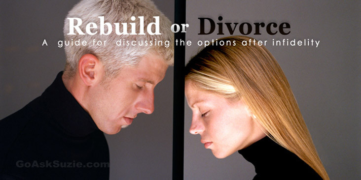 When to get a divorce after infidelity