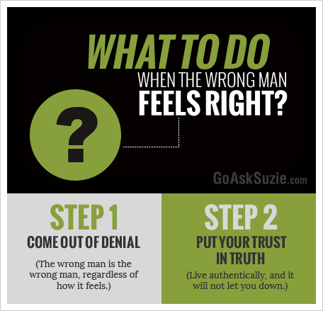 what to do when wrong man feels right