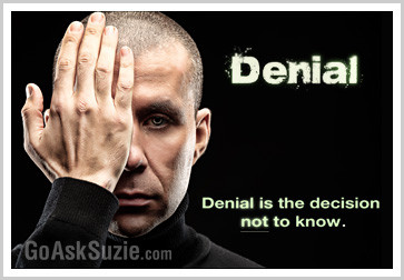 Denial is a decision compressor