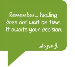 healing does not wait on time