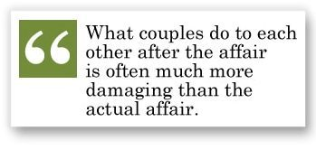 what couples do to each other after infidelity