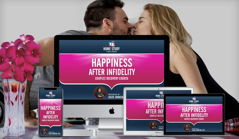 Happiness After Infidelity for Couples Online Video Course