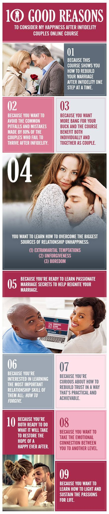 10 Good Reasons Happiness After Infidelity