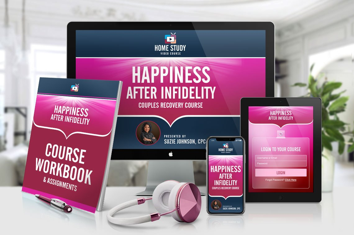 Happiness After Infidelity Couples Online Home-Study Course