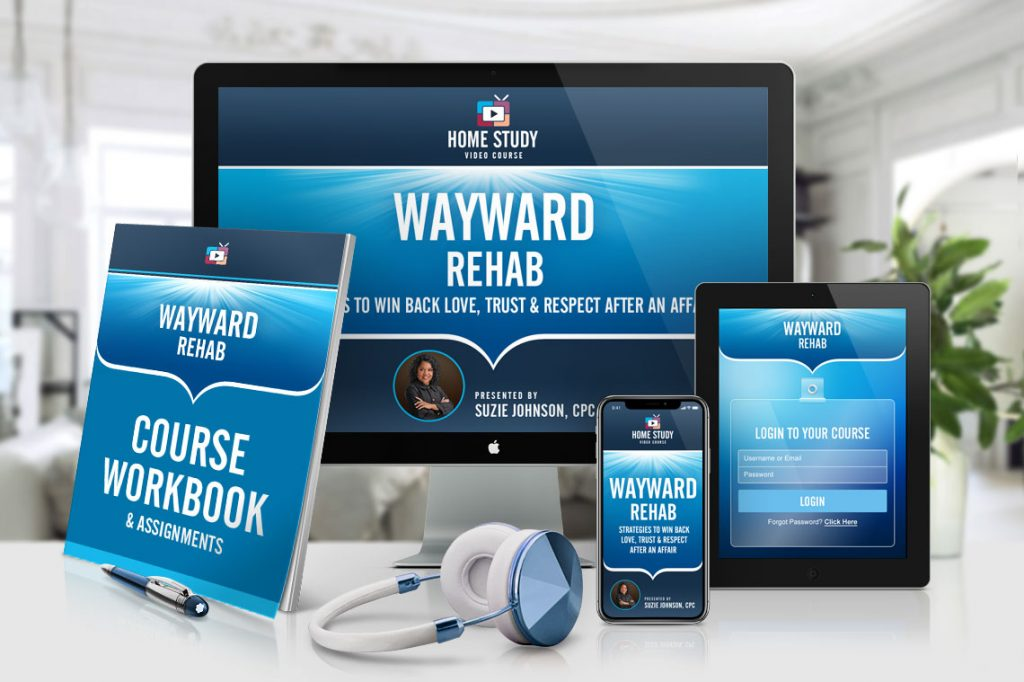 Wayward Rehab - Infidelity Recovery Online Home-Study Course for Wayward Partners