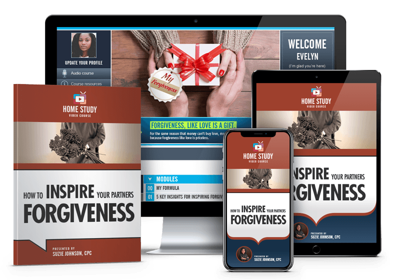 Inspire Forgiveness After Infidelity Course