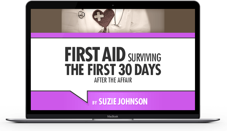First Aid Surviving the Early Days After Discovery of Infidelity Online Course
