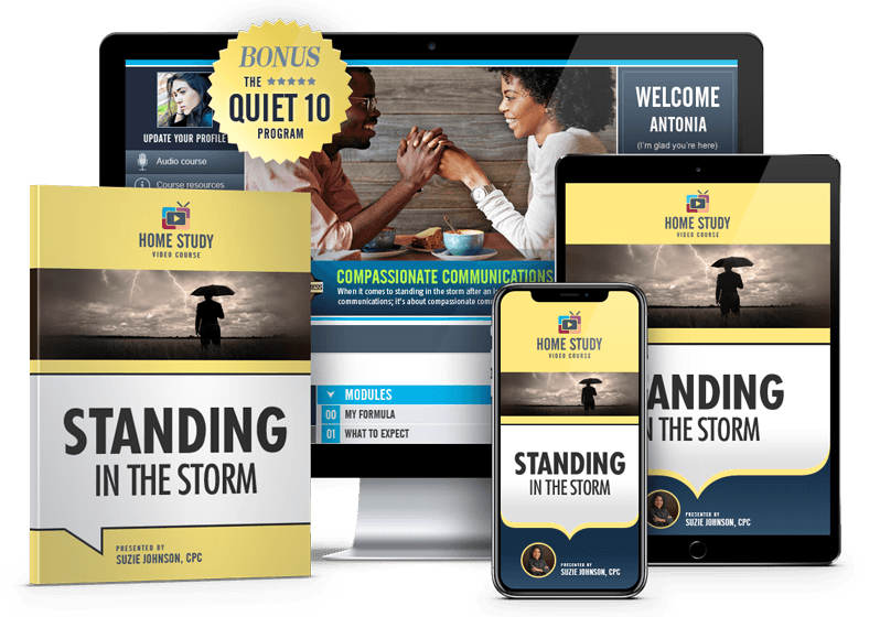 Standing in the Storm After Infidelity Online Recovery Course