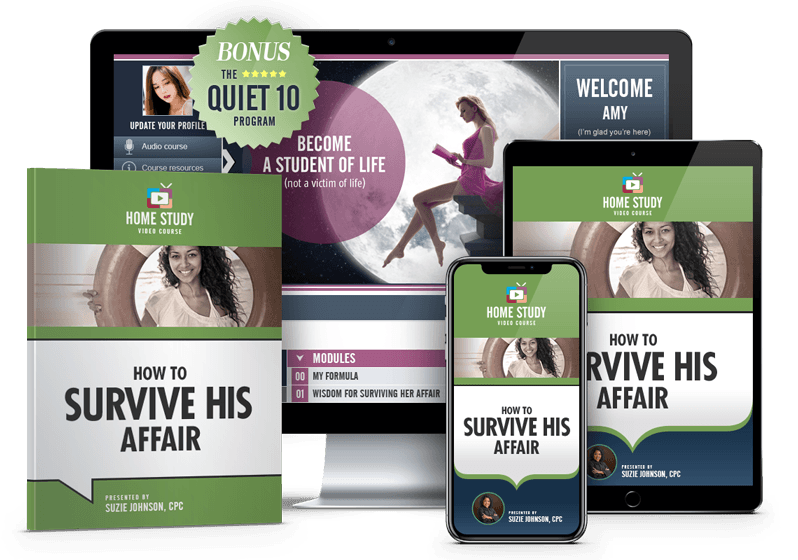 How to Survive His Affair Online Recovery Course