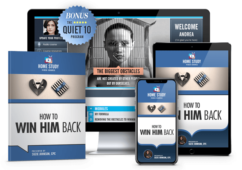 Win Him Back Online Course