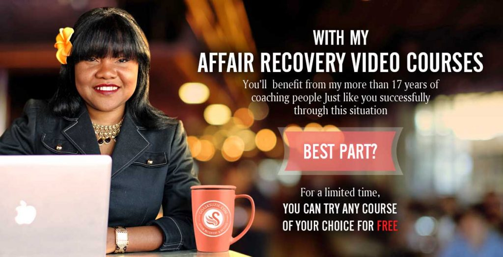 Affair Recovery Courses by Suzie Johnson Feature Image Store