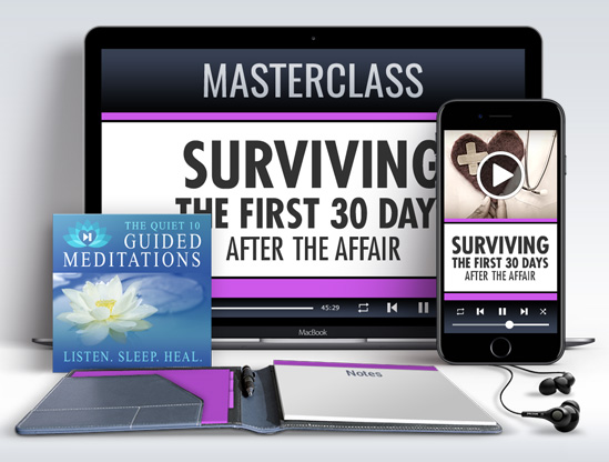 First Aid - Surviving the First 30-Days After the Affair