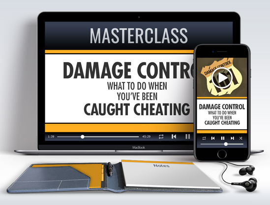 Damage Control - What To Do When Caught Cheating On Your Spouse