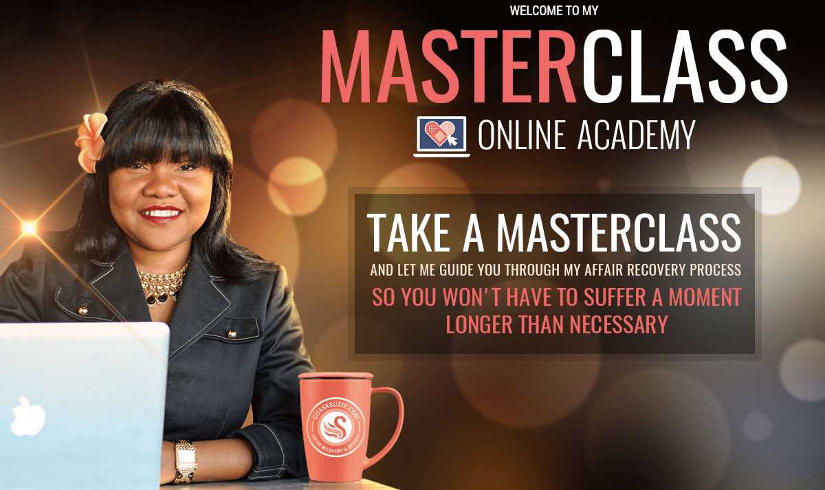 Affair Recovery Online Classes by Suzie Johnson
