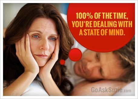 Dealing With A State Of Mind