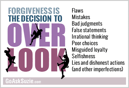 Forgiveness Is The Decision To Over Look compressor