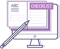 Workbooks & Checklists Icon