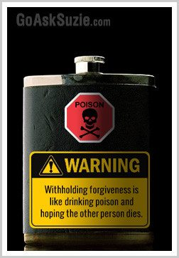 Withholding Forgiveness Is Like Drinking Poison And Hoping The Other Person Dies