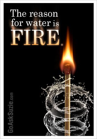 Reason For Water Is Fire Compressor