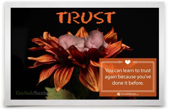 You Can Learn To Trust Again